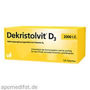 Dekristolvit D3 2000<br>I. E.