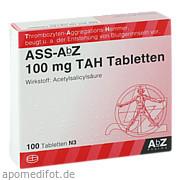 Ass - AbZ 100 mg Tah Tabletten AbZ Pharma GmbH