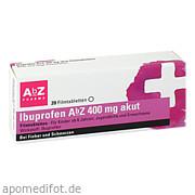 Ibuprofen AbZ 400 mg akut Filmtabletten AbZ Pharma GmbH