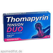 Thomapyrin Tension Duo<br>400 mg/100mg Filmtabletten<br>
