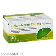 Ginkgo - Maren 240mg Filmtabletten Krewel Meuselbach GmbH