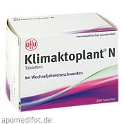 Klimaktoplant N Dhu - Arzneimittel GmbH & Co.  Kg